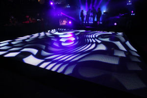 video LED floor