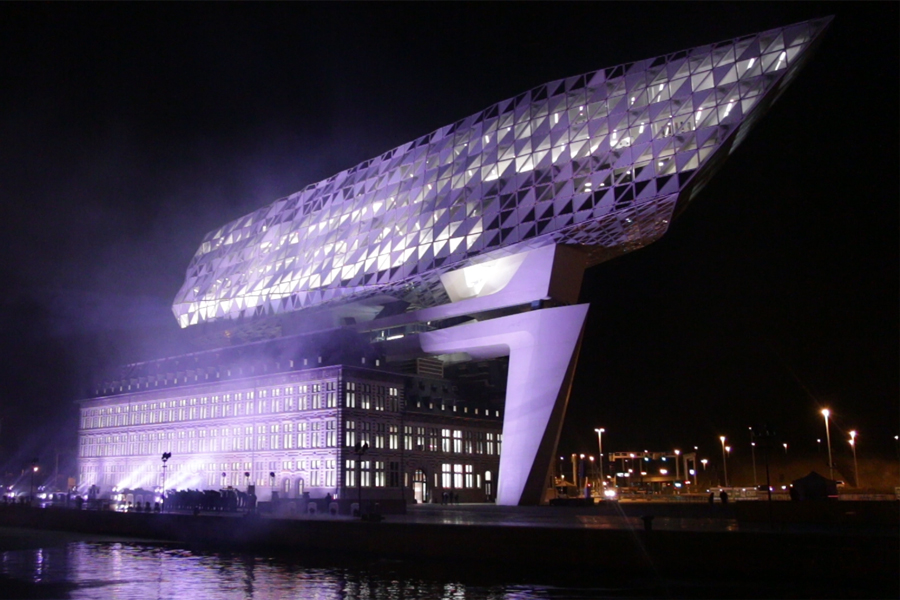 Opening Show New Port House Antwerp